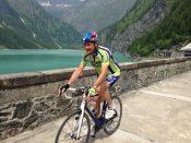 Lo Sponsor Claudio Gariglio al lago dell'alpe Cavalli