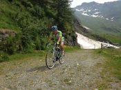 Arrivo al lago dell'Alpe Cavalli